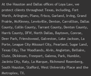 Dallas - Ft. Worth Locations